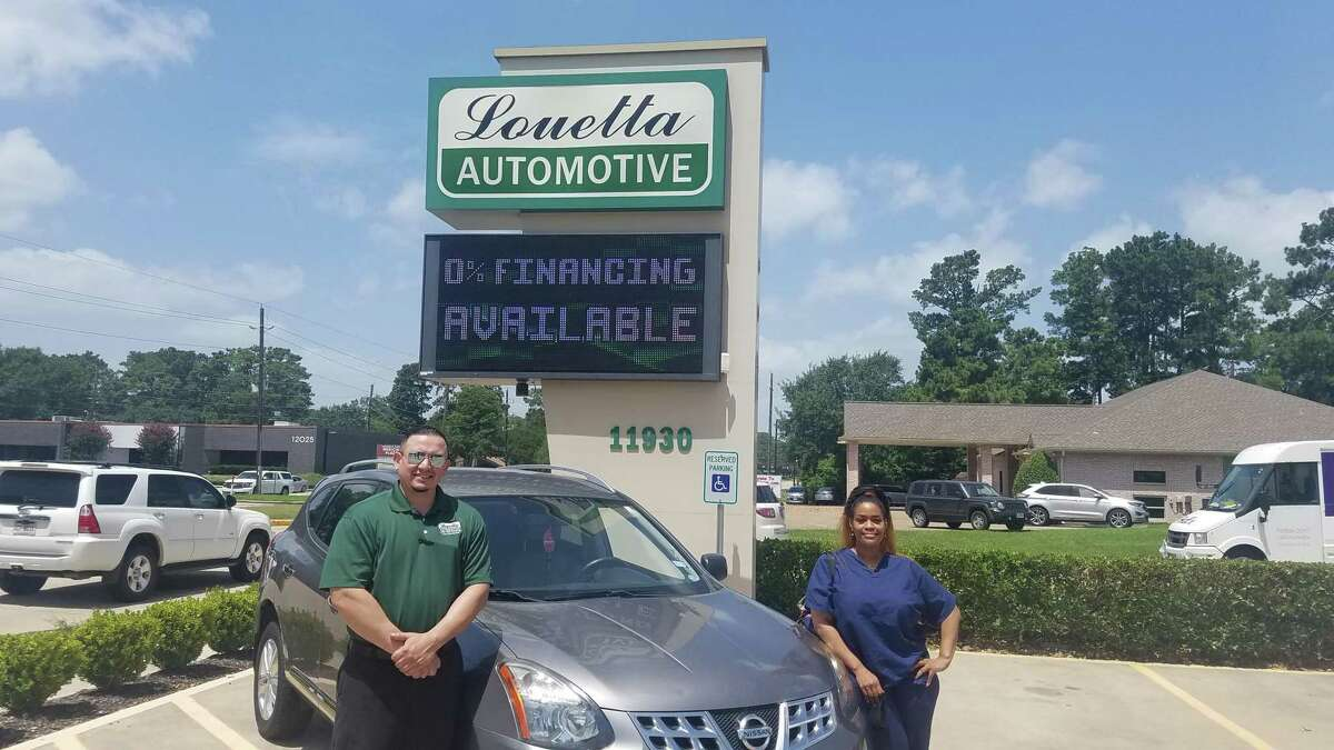 Louetta Automotive selected Houston Methodist Willowbrook Hospital nurse Necole Boudreaux as a recipient of free tires through the Honor Local Heroes program.