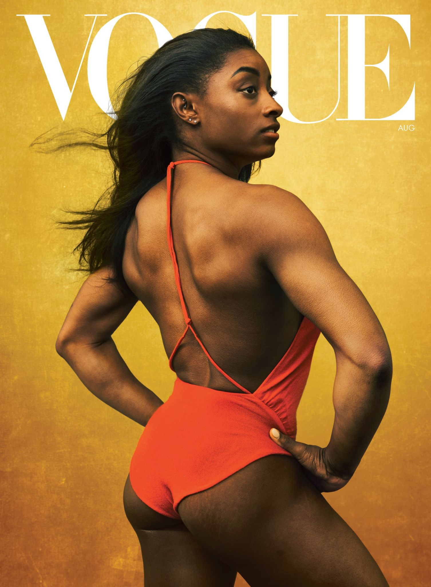 Simone Biles talks the pandemic, the Olympics and growing up in Vogue