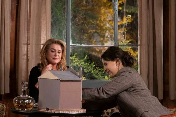 "Catherine Deneuve and Juliette Binoche star in ""The Truth."""