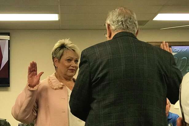 Councilwoman Teresa Herod was sworn in on Tuesday, December 18, 2019 to fill the unexpired term of Tamara Young-Hector on the Willis City Council.
