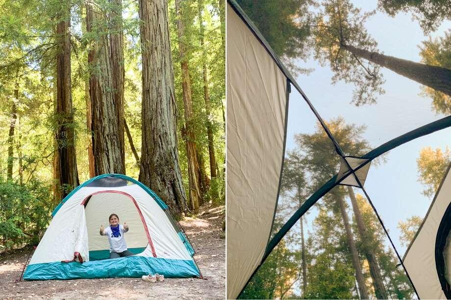 Our campsite. Photo: Grant Marek / SFGATE