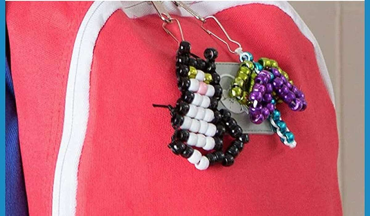 Made By Me Create Your Own Bead Pets Price: $12.22 Your kids don't just need window art; they need backpack art that doubles as a little friend. They can create all of the beaded friends their hearts desire when you buy this Made By Me Create Your Own Bead Pets kit.