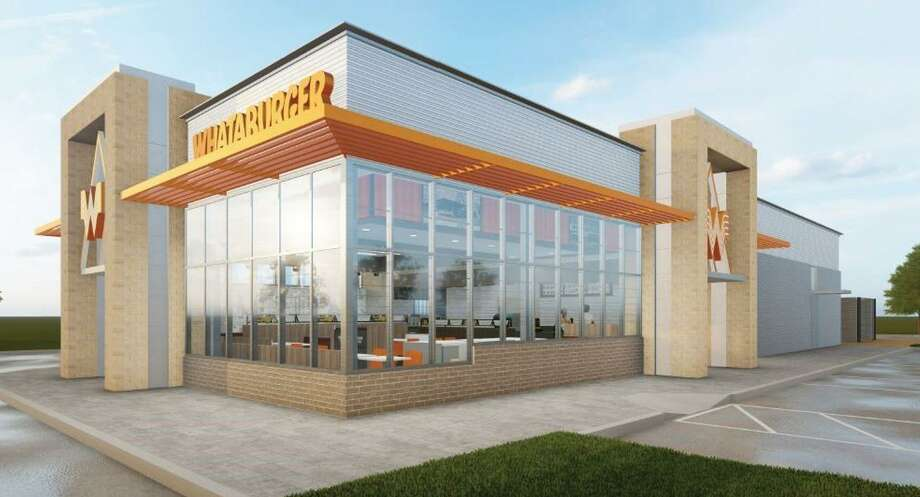 Whataburger is developing a new design for its restaurants, according to a news release. Photo: Courtesy Of Whataburger / Courtesy Of Whataburger
