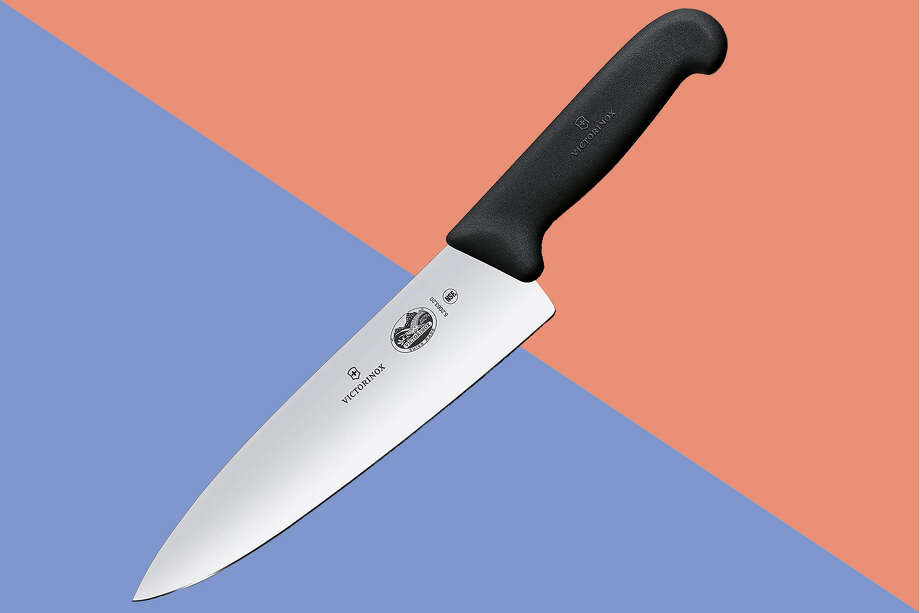 The Victorinox Fibrox is an Internet darling and comes up continuously in recommendations of the best chef's knife for the money. Photo: Amazon/Hearst Newspapers