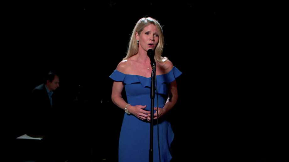 """In this screen grab, Kelli O'Hara performs for the 40th Anniversary of """"A Capitol Fourth"""" on PBS on July 04, 2020 in Washington, D.C. Photo: Getty Images / Getty Images For Capitol Concerts / 2020 Capitol Concerts"""
