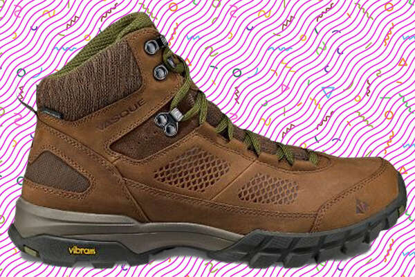 """Vasque Talus AT UltraDry Another shoe with a high-quality Vibram sole, this time the """"Mega Nuasi"""" for unparalleled grip, the Talus AT Ultra Dry is a waterproof leather boot with no break-in period -- it'll feel great right out of the box. $149.99 at Vasque.com"""