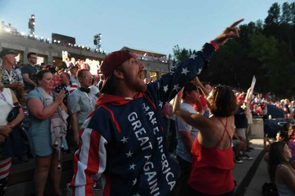Not too many masks were seen among supporters of President Donald Trump during his speech at Mount Rushmore on July 3. A reader blames Trump for the nation's lax approach to handling the pandemic.