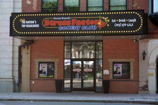 The Stress Factory Comedy Club in Bridgeport on Thursday.