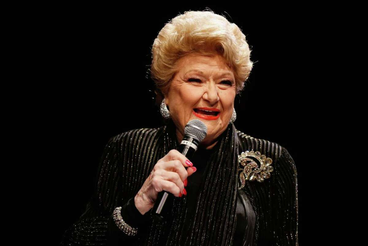 """Jazz and cabaret singer Marilyn Maye will perform Aug. 24 at the Barrington Stage Co. She has appeared 76 times on NBC's """"Tonight Show."""""""