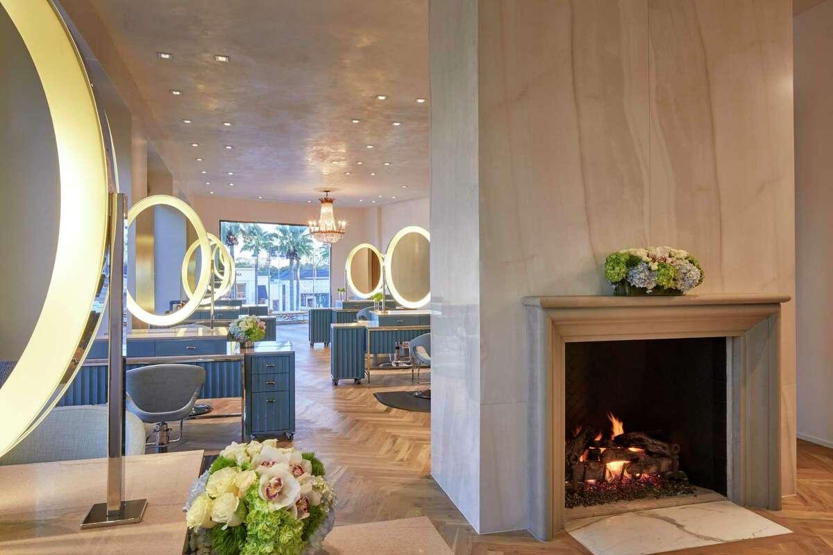 Solaya Spa & Salon's interiors are by Nina Magon of Contour Interior Design.
