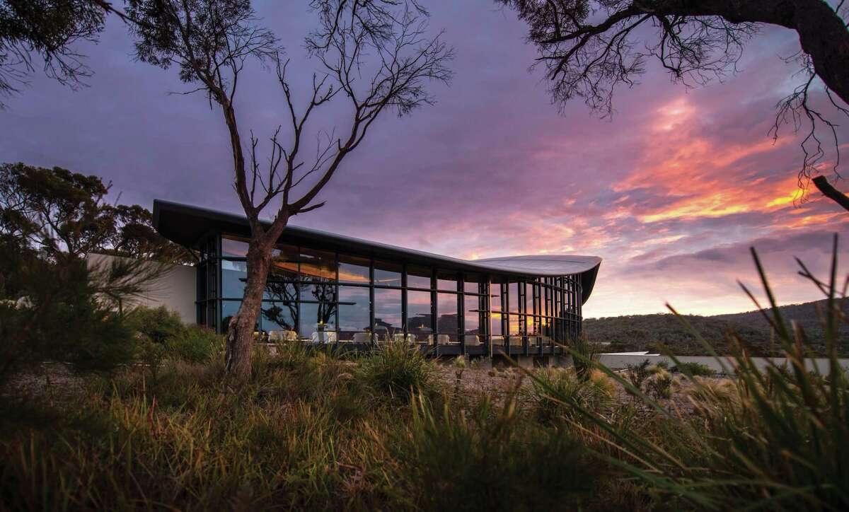Saffire Freycinet is one of Australia's top lodges.