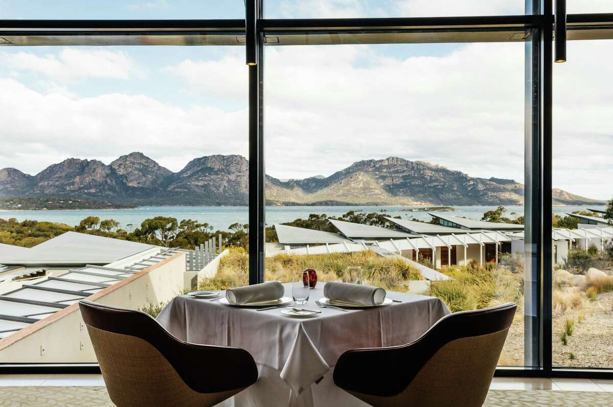 The multi-course dinners at Saffire would hold up to any Michelin-restaurant.