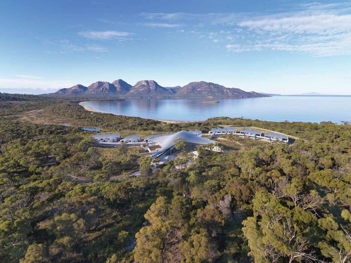 Saffire Freycinet is on Tasmania's far east coast.