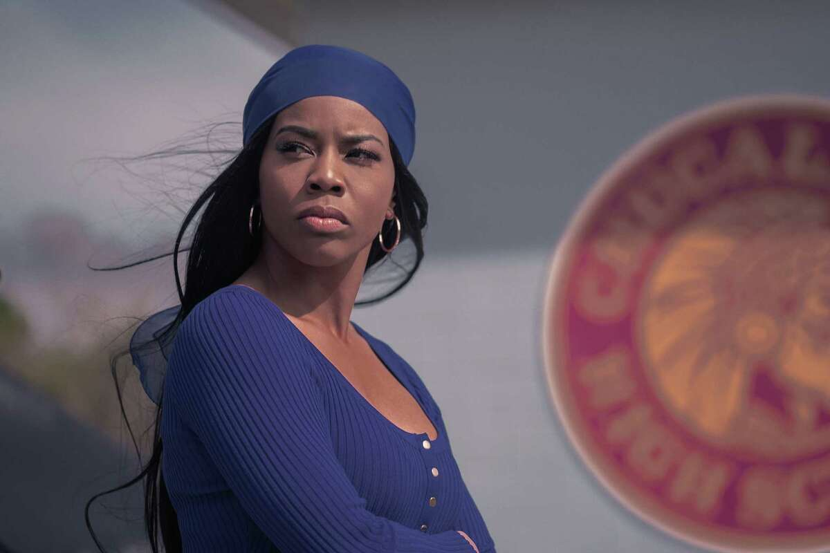 Brandee Evans stars as Mercedes, the club's main attraction.