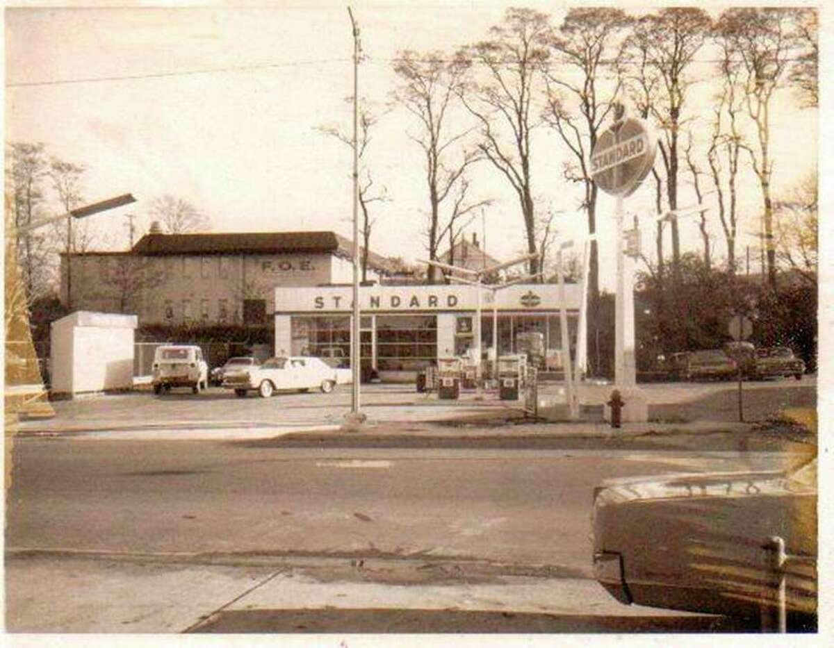The Standard Oil gas station was a popular place for car repair and fill up on gas at the corner of River and Division streets during the 1960s.