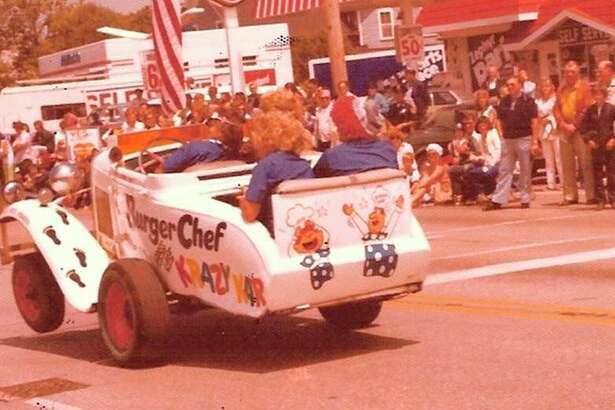 The Burger Chef Krazy Kar was a hit in one of the Manistee National Forest Festival parades in the 1970s.