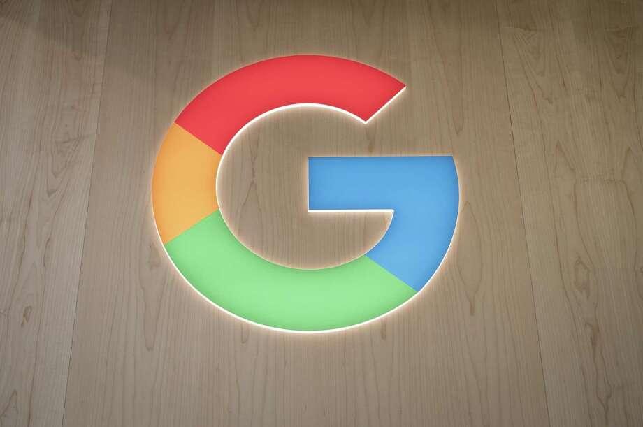 The Google logo at CES 2020 in Las Vegas on Jan. 7, 2020. Photo: Bloomberg Photo By David Paul Morris. / © 2020 Bloomberg Finance LP