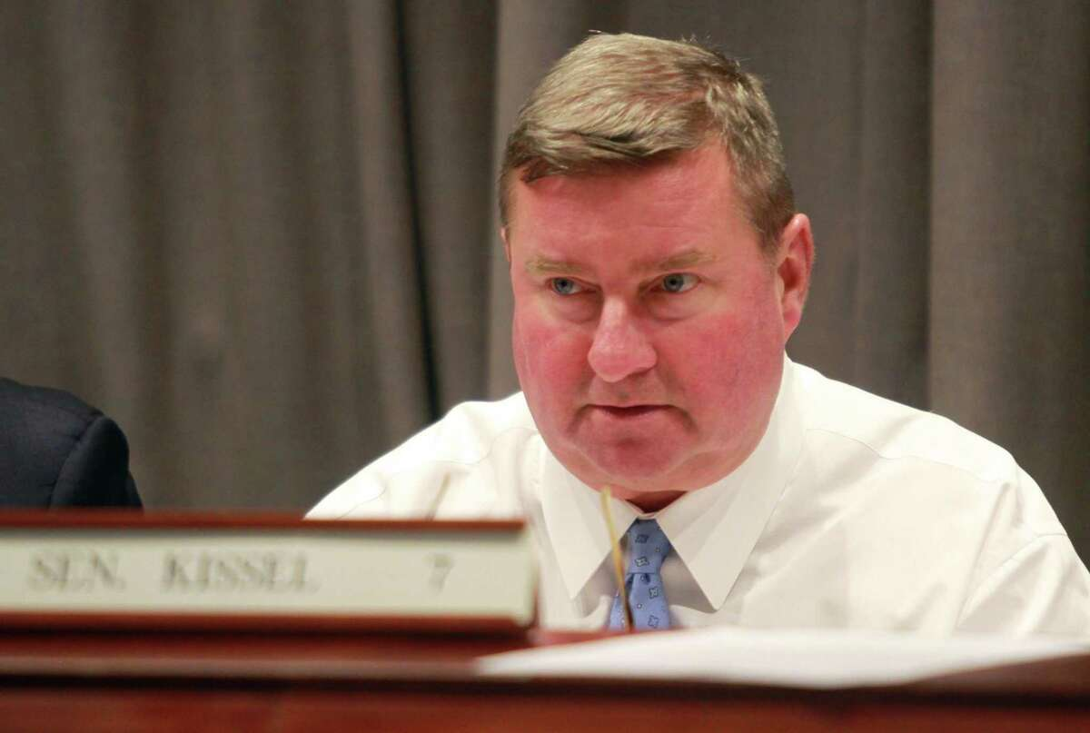 State Senator John Kissel, R-Enfield, ranking member of the Judiciary Committee, in a 2018 file photo.