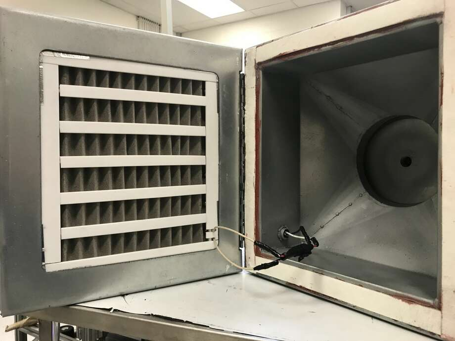 """University of Houston researchers have designed a """"catch and kill"""" heated air filter that can trap the virus responsible for COVID-19, killing it instantly. This innovative filter promises to be a game-changer in the battle against the novel coronavirus. Photo: University Of Houston"""