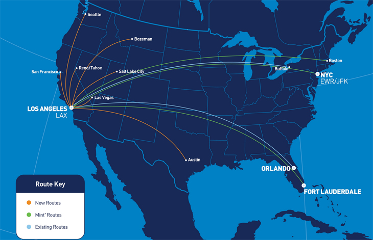 JetBlue to add new SFO-LAX nonstop + more airline news