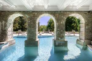 Chateau Ridge, the former Greenwich estate of late fashion designer Vince Camuto goes to auction in August with Concierge Auctions in partnership with Compass.