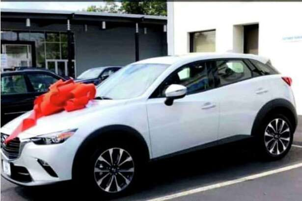 According to a Facebook post, this car was stolen from a Wilridge Road home during the overnight hours of July 9. It is the third car reported stolen in Wilton over three days.