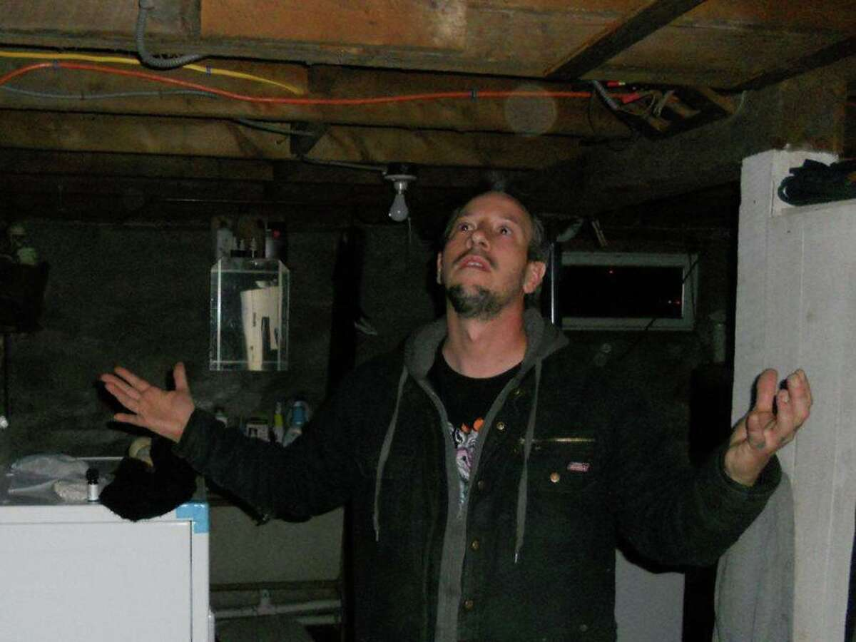 Ghost Storm head investigator and clairvoyant Nick Grossman