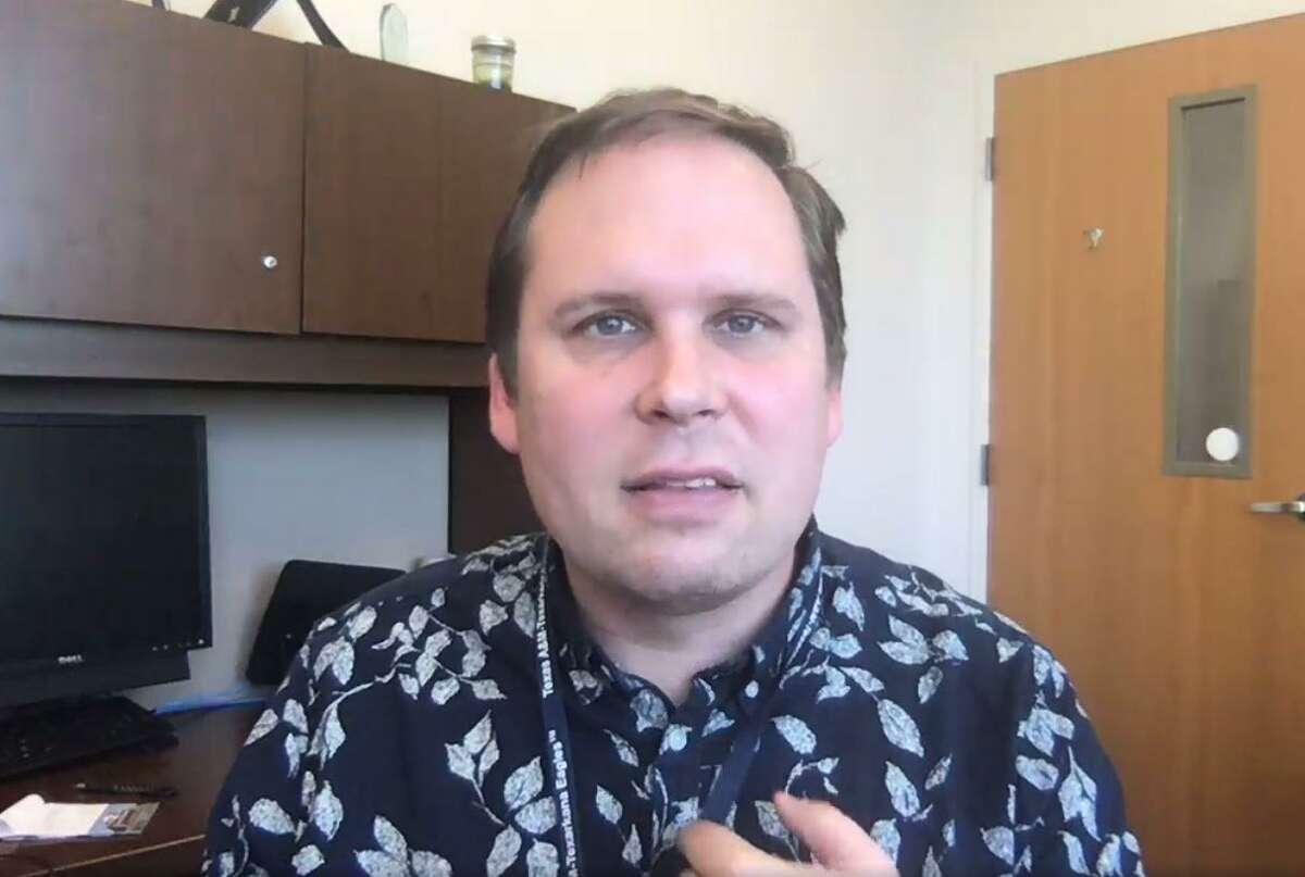 Coronavirus researcher Ben Neuman.