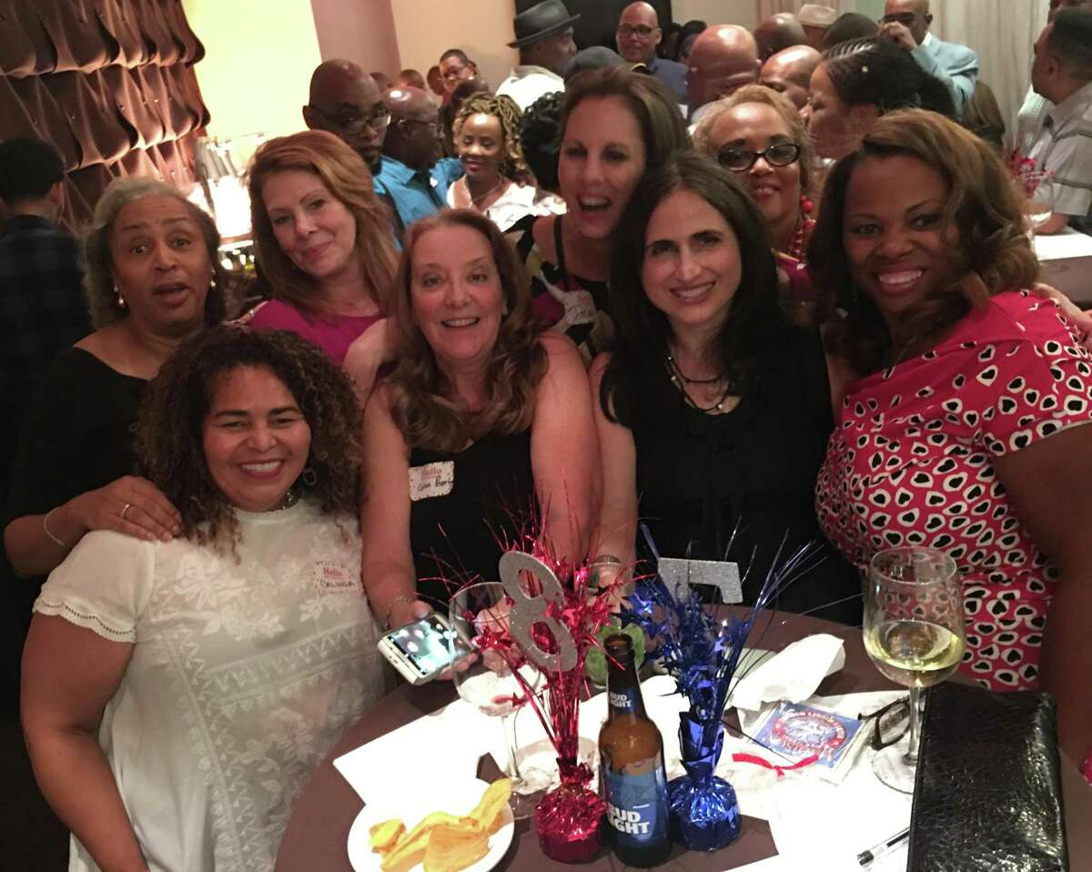 Houston's Madison High School class of 1978 got together in 2018. Today, class reunions are being canceled due to the pandemic.