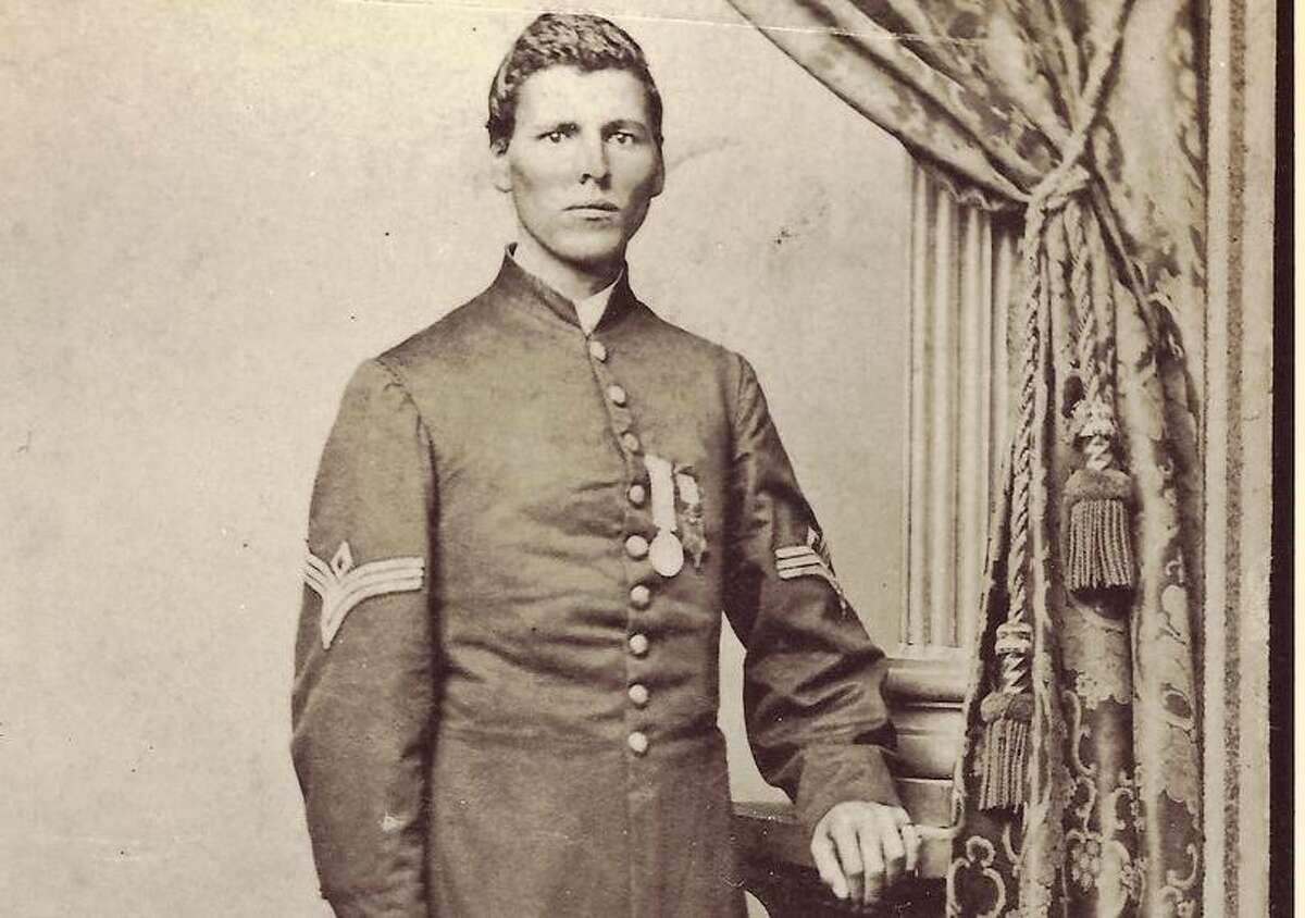 Milton Holland, the first native Texan to receive the Medal of Honor, left for Ohio at an early age, one reason he's not better known in his native state.