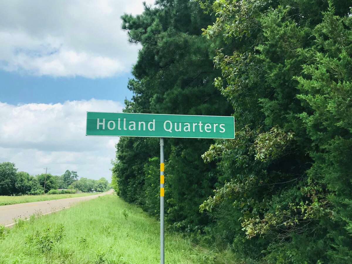 Established as a freedman?•s town after the Civil War, Holland Quarters once had a school with an enrollment of 79 Black students, a church and several houses. Little remains.