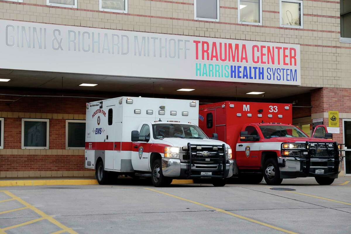 Dr. Esmaeil Porsa, president of the Harris Health System, said wait times to get a bed topped more than 24 hours this week.