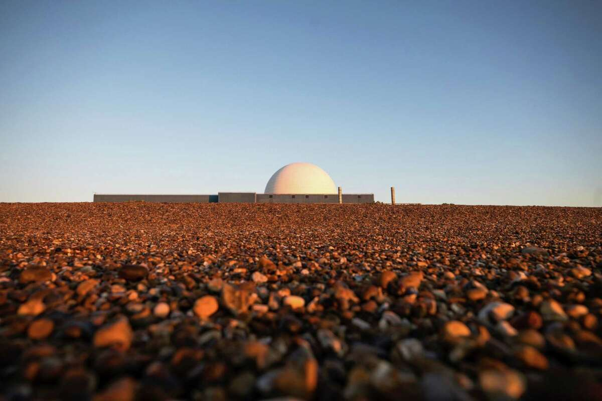 The Sizewell B nuclear power station, operated by Electricite de France (EDF), stands in Sizewell, England, on May 15, 2020.