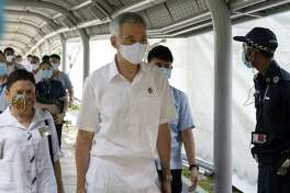 Lee Hsien Loong, Singapore's prime minister, in Singapore on June 30, 2020.
