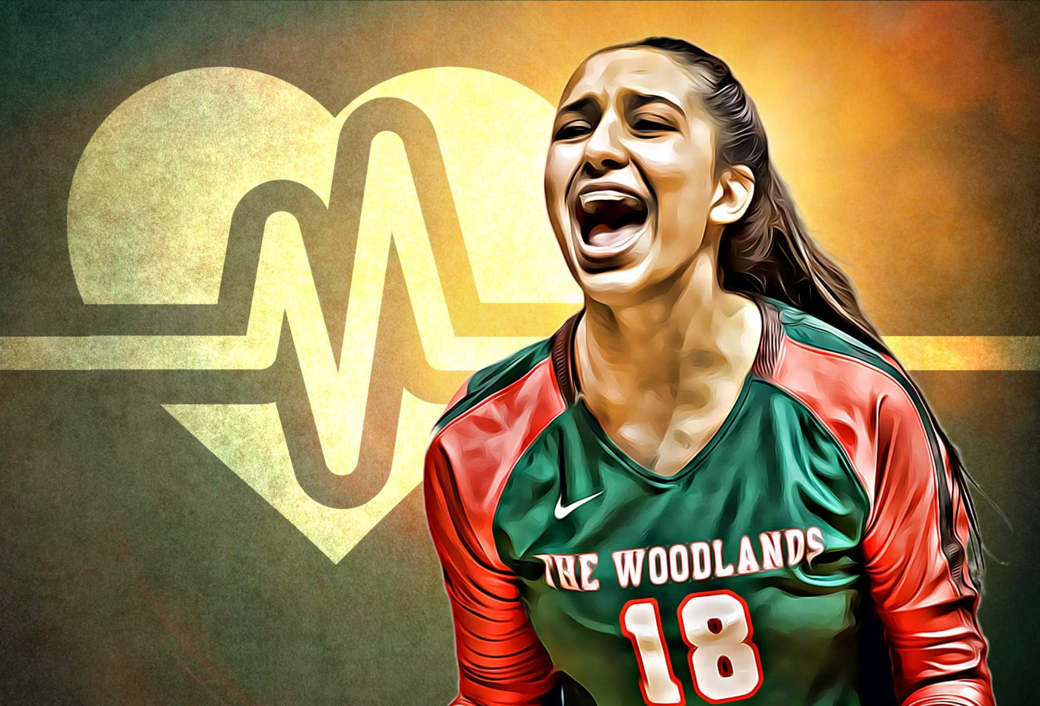 All Heart: The Woodlands' Julieta Valdes continues recovery