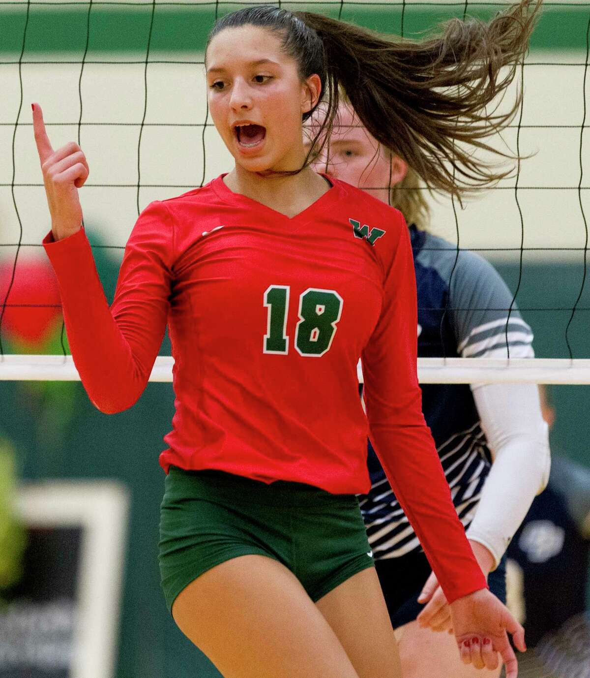 The Woodlands outside hitter Julieta Valdes ranked second on the team with 319 kills last season.