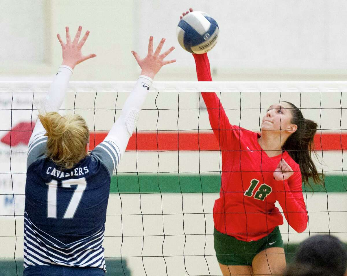 The Woodlands outside hitter Julieta Valdes was a second-team All-Montgomery County selection as a freshman.