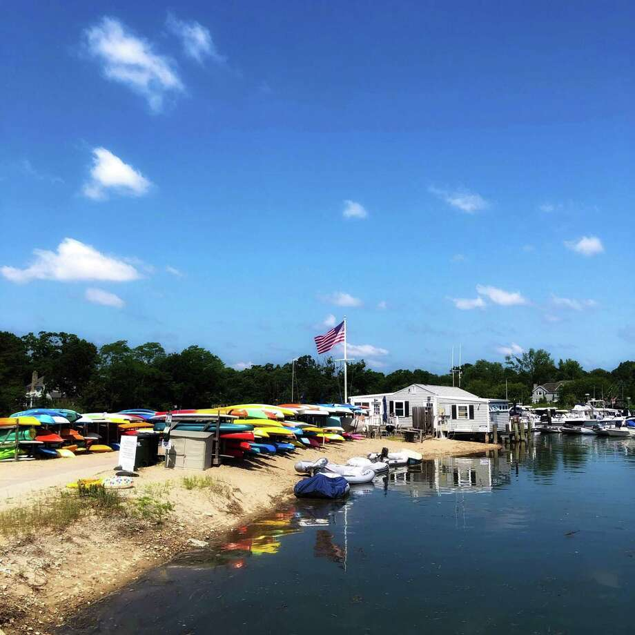 Pear Tree Point Beach on July 4. Photo: Will Lewis