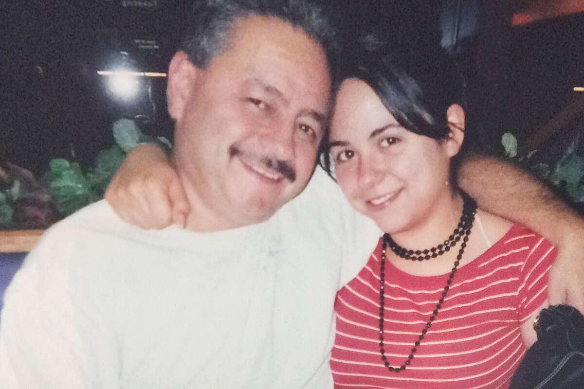Mark Urquiza with daughter Kristin Urquiza.