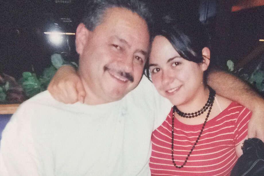 Mark Urquiza with daughter Kristin Urquiza. Photo: Family Photo. / The Washington Post