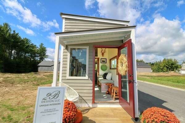 The tiny house built by high school students in Saratoga Springs was included in the 2019 Saratoga Showcase of Homes.