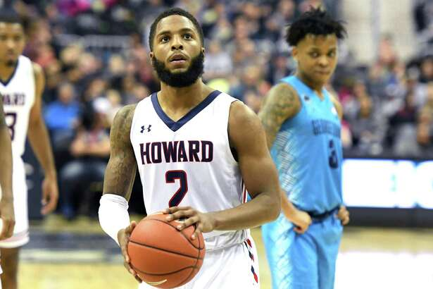 RJ Cole, seen here in 2018, transferred from Howard to UConn.