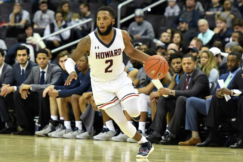 WASHINGTON, DC - DECEMBER 29: RJ Cole #2 of the Howard Bison dribbles the ball during a college basketball game against the Georgetown Hoyas at the Capital One Arena on December 29, 2018 in Washington, DC. (Photo by Mitchell Layton/Getty Images) Photo: Mitchell Layton / Getty Images / 2018 Mitchell Layton 2018 Mitchell Layton