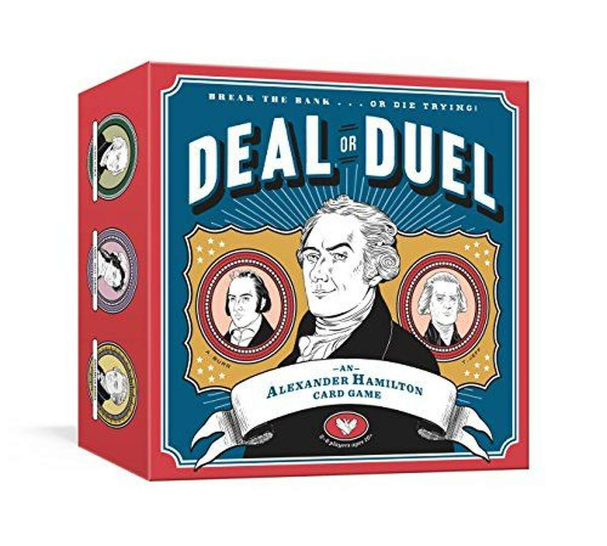 2) Deal or Duel Hamilton Game: $16.83 Shop Now Aficionados of history and the theater world alike will enjoy this card game centered around America's $10 founding father.