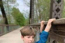 Sage Adams, 10 years old.