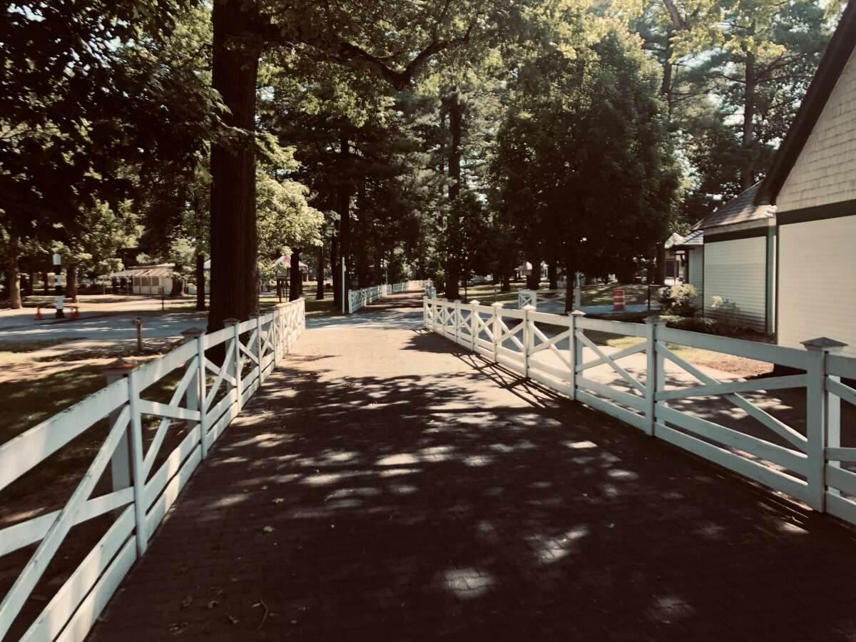 Saratoga Race Course will be devoid of fans this year. (Tim Wilkin / Times Union)