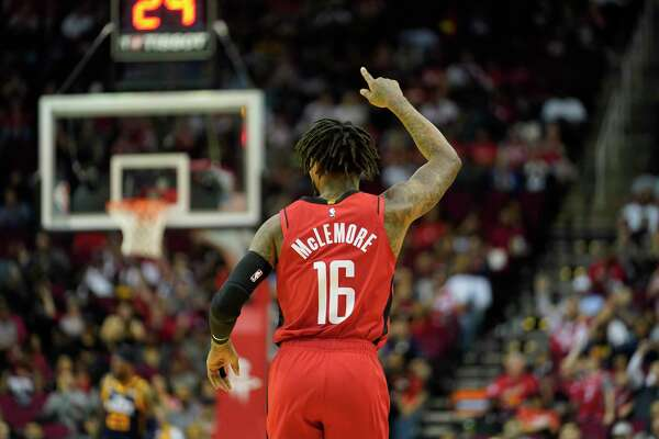 Ben McLemore was glad to be back with his teammates at practice on Saturday in Orlando, even if James Harden and Russell Westbrook were missing.