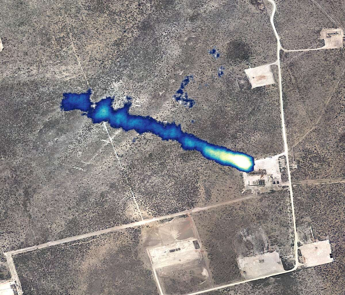 Kairos Aerospace, which routinely performs aerial surveys of the Permian Basin looking for methane emissions, has joined with DCP Midstream to survey its natural gas gathering system in Texas, New Mexico and Colorado. The survey is done with a pod containing sensors attached to the plane's wing strut.