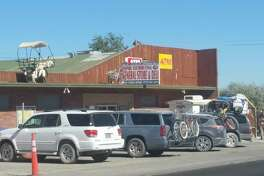 Empire Store in Nevada, a popular final pit stop on the way to Burning Man.