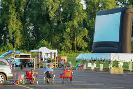 "Collinsville Parks Department and Gateway Convention Center presented the ""Gateway Drive-In"" on Saturday, July 11, with live music from Strange Buffalo and the Pokemon movie, ""Detective Pikachu"""